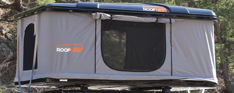 Roofnest Eagle Roof Top Tent Open