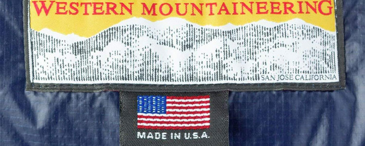 Western Mountaineering MegaLite Tags