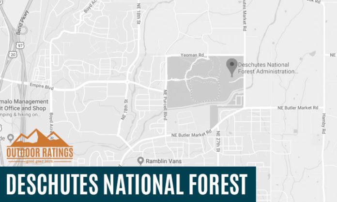 Campsite Deschutes National Forest