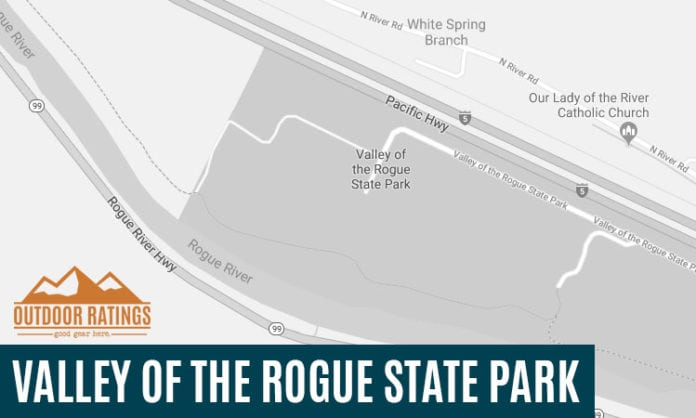 Valley of the Rogue State Park Campsites