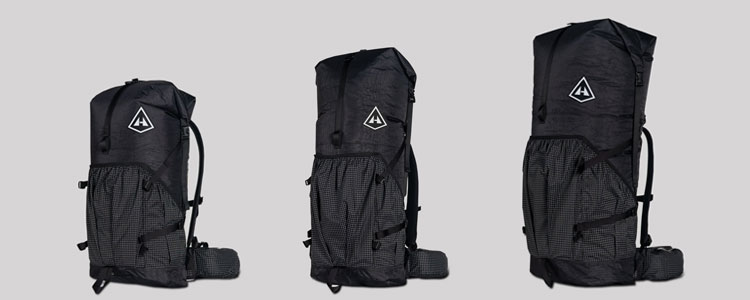Hyperlite Mountain Gear Black Southwest Packs