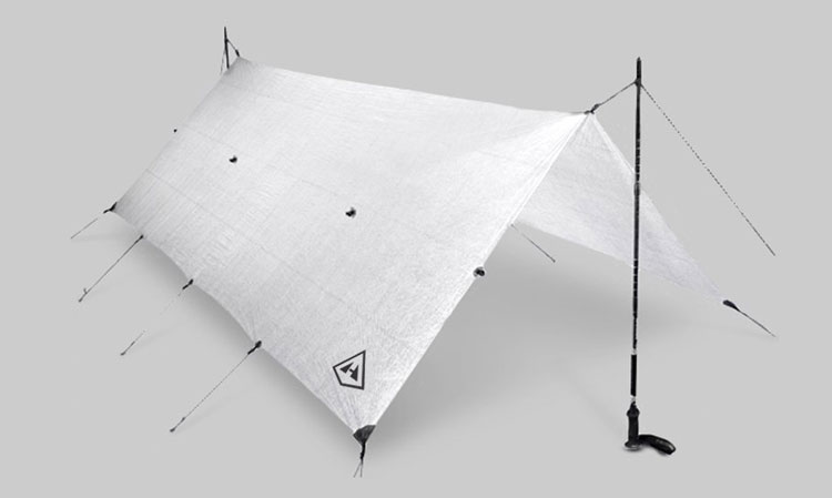 Hyperlite Mountain Gear Flat Tarp White