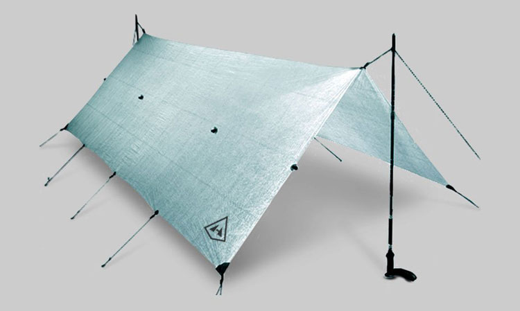 Spruce Green Hyperlite Mountain Gear Flat Tarp Shelter
