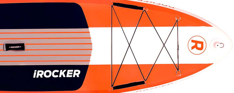 2019 iROCKER CRUISER Inflatable Paddle Board Nose