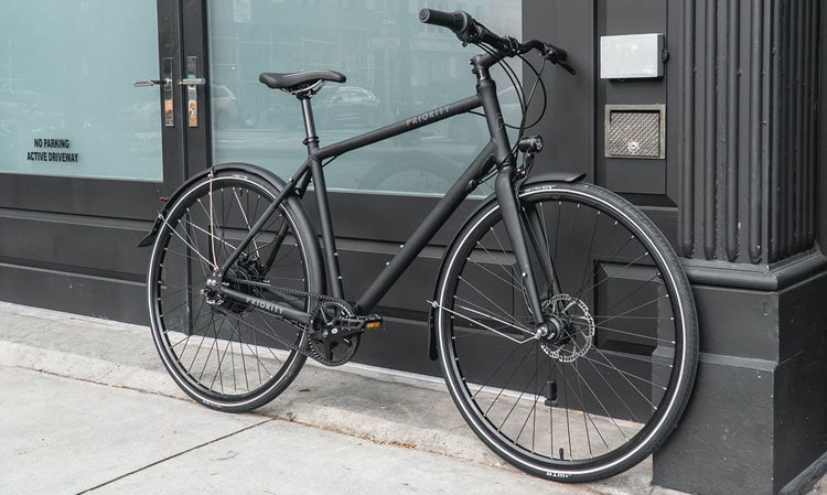 Matte Black Priority Continuum Onyx Bike